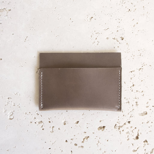 TAUPE ALMOST PERFECT LEVAC CARD HOLDER