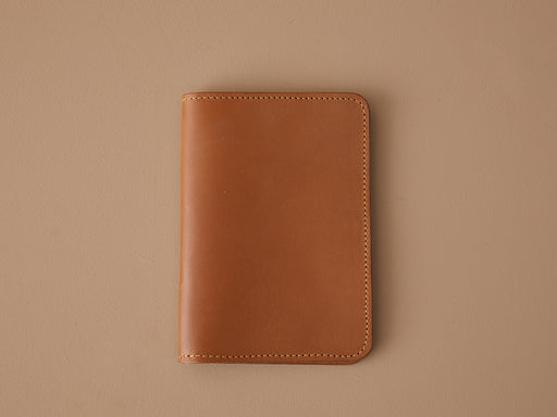SIENNA LEATHER PASSPORT WALLET | MILJOURS STUDIO