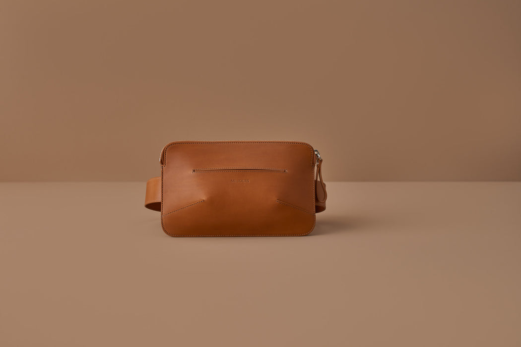 SIENNA LEATHER BELT BAG | MILJOURS STUDIO