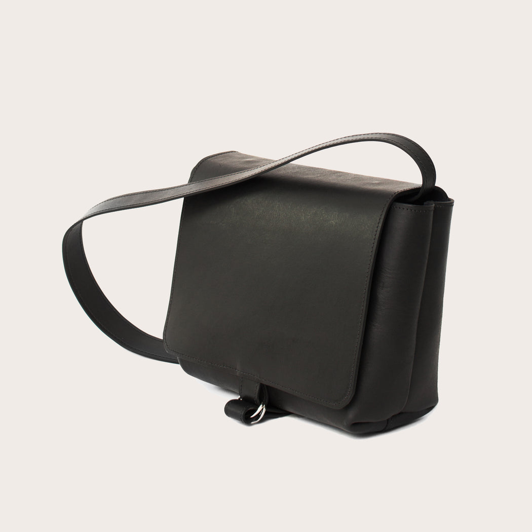 Leather Crossbody Bag | MATHY