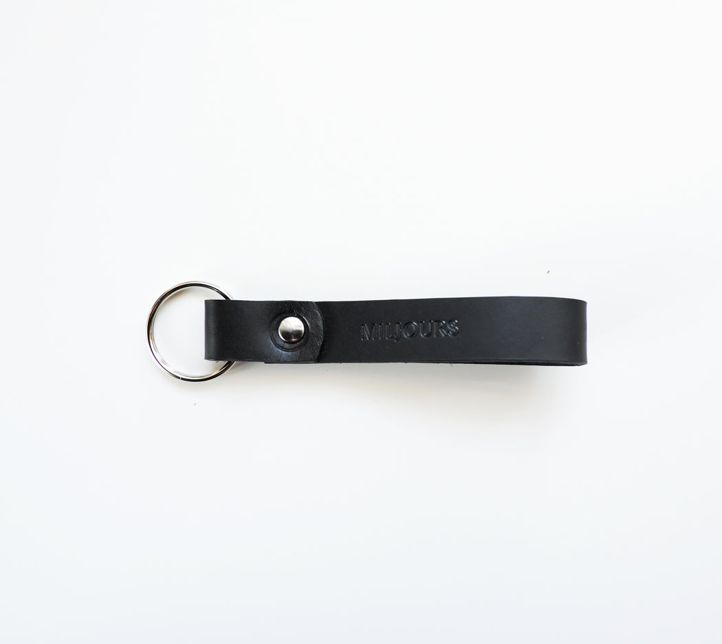 LEATHER KEYCHAIN | ALLEN