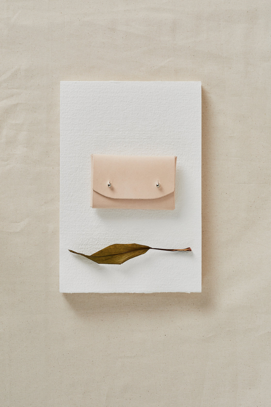 FITZ Leather cardholder