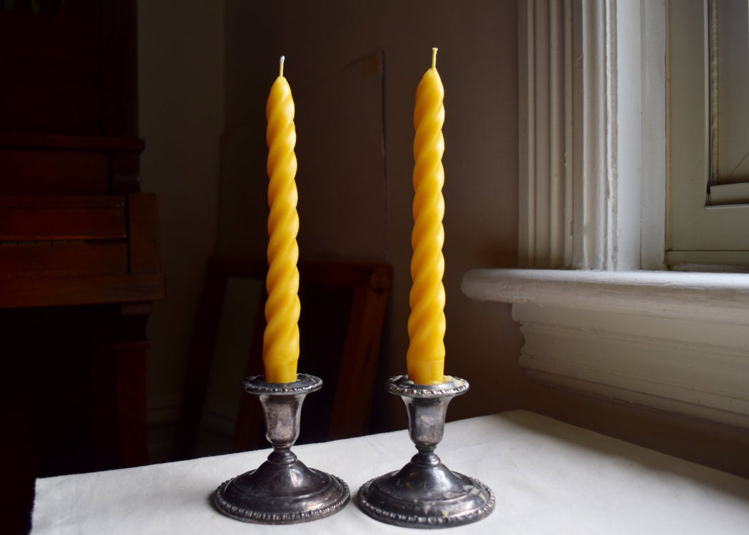 The wax studio - twisted taper candles