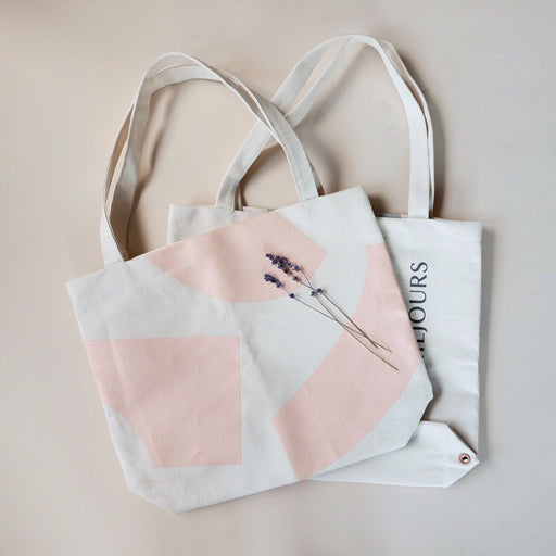 SMALL CANVAS TOTE BAG | MILJOURS STUDIO