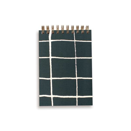 MINI BOOK GREEN GRID | MOGLEA
