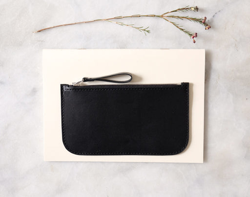 BLACK ALMOST PERFECT WALLET WITH ZIPDIO