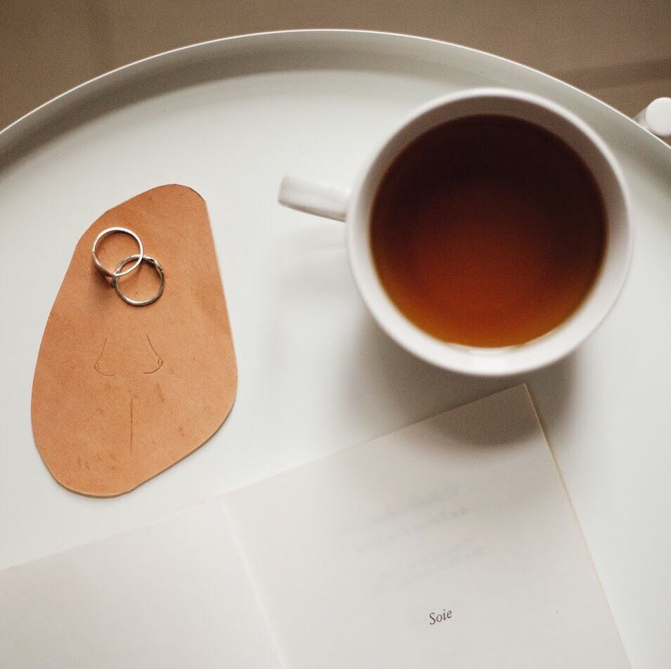 NUDE LEATHER COASTERS | MILJOURS STUDIO