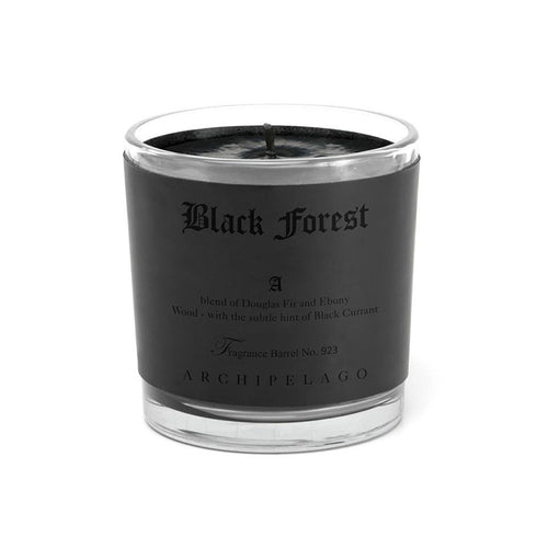 Black Forest Letter Press Candle