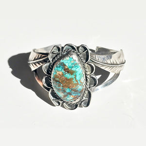 Royston Blue Turquoise Cuff