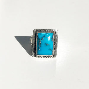 Bizby Blue Turquoise Ring
