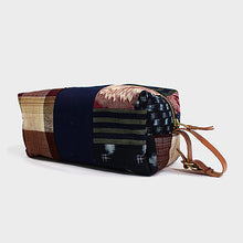 Boro Dopp Kit, Red and Blue