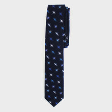 Tie Kasuri-Ori Blue and White