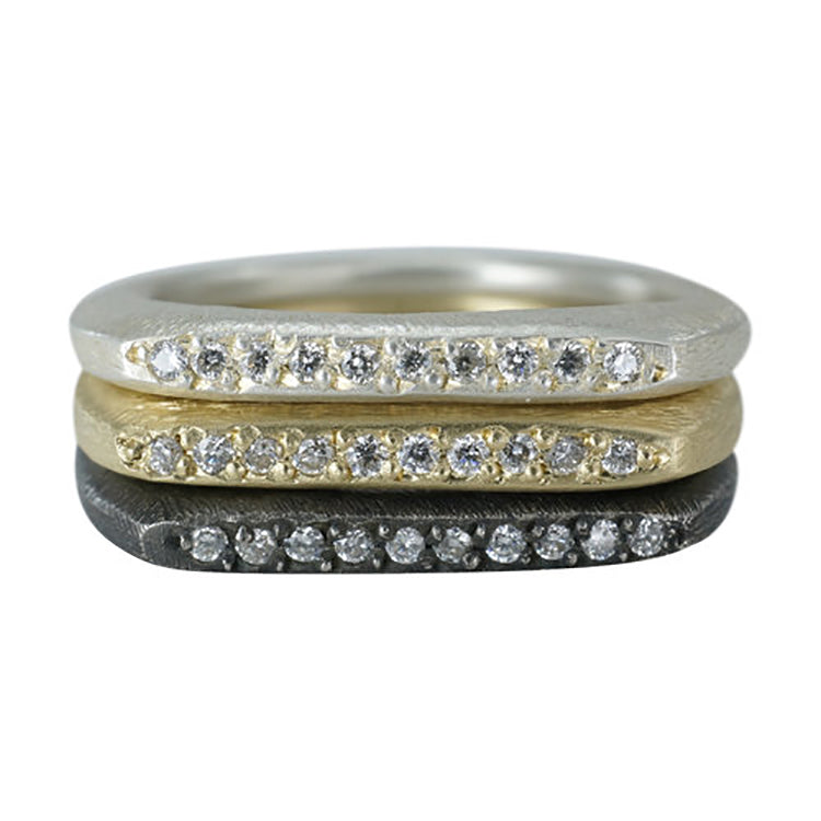 Diamond Slice Ring from
