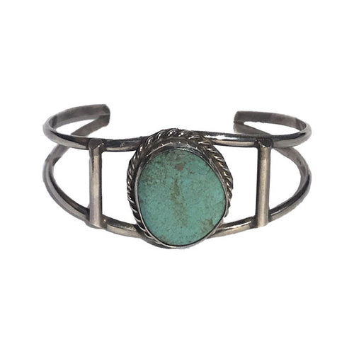 Turquoise Two Wire Cuff