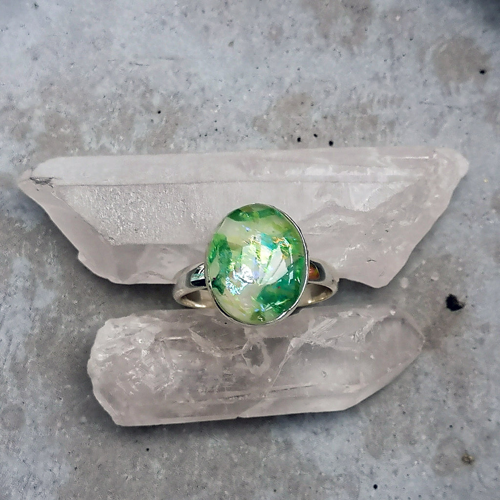 Oval Cast Ring
