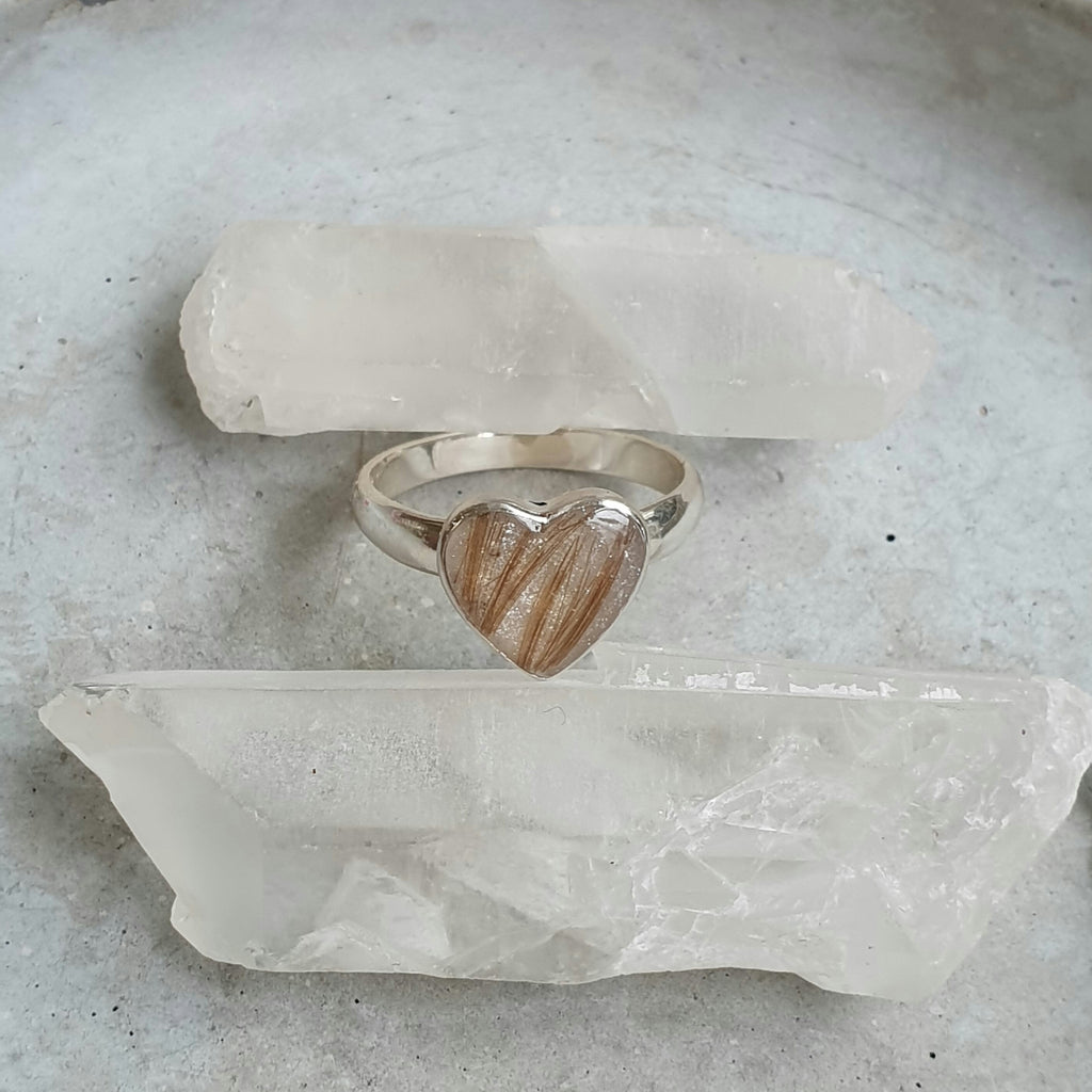 Heart Cast Ring