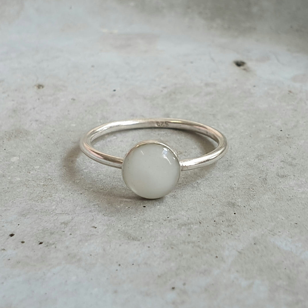 Smooth Band Stacking Ring