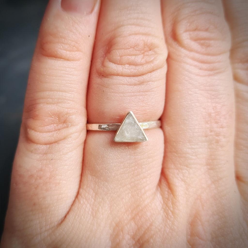 PRE ORDER! New Triangle Stacking Ring