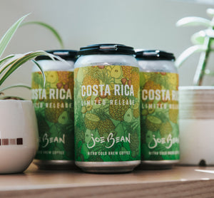 LIMITED RELEASE SINGLE ORIGIN COLD BREW, COSTA RICA