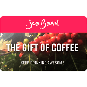 Joe Bean E-Gift Card