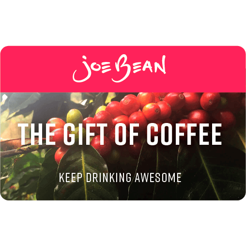 Joe Bean $10 E-Gift Card