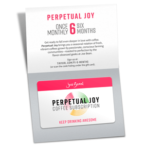 PERPETUAL JOY GIFT CARD