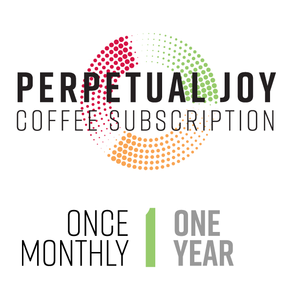 One Year Monthly Coffee Subscription