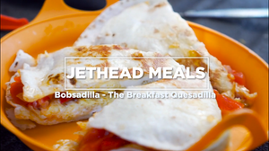 Bobsadilla - The Breakfast Quesadilla