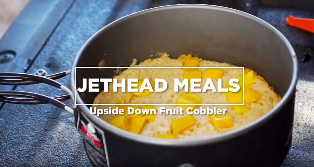 Upside Down Fruit Cobbler