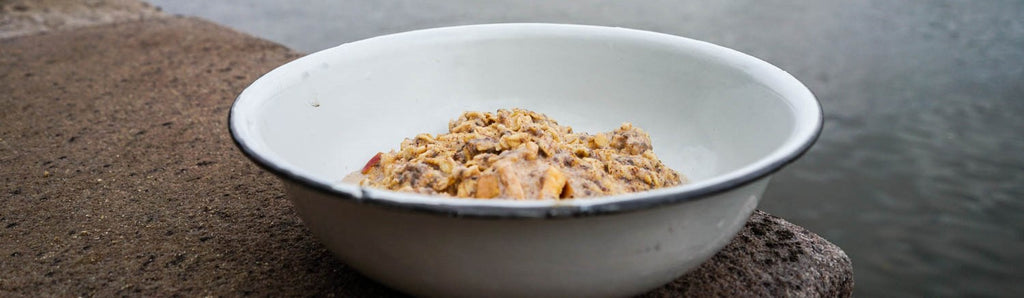 Apple and cinnamon porridge recipe