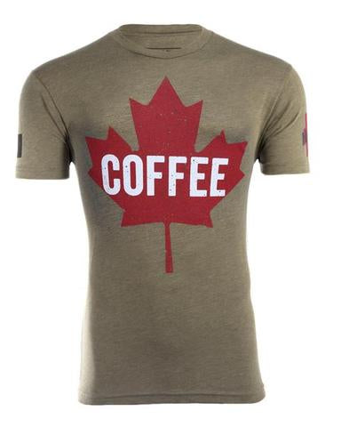 BRCC Coffee Maple Leaf Shirt