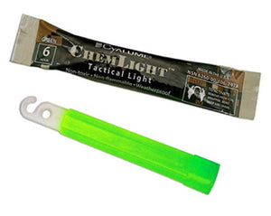 "Cyalume 4"" Chemlight Light Stick 6 Hour - Green"