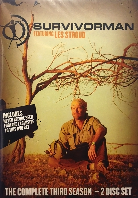 Survivorman Season 3 - DVD