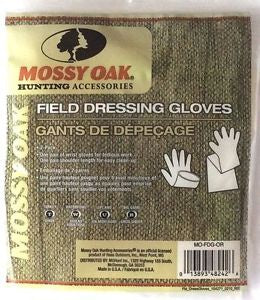 Mossy Oak Field Dressing Gloves - Set Of 2