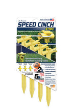 Speed Cinch Tent Stakes 4 Pack