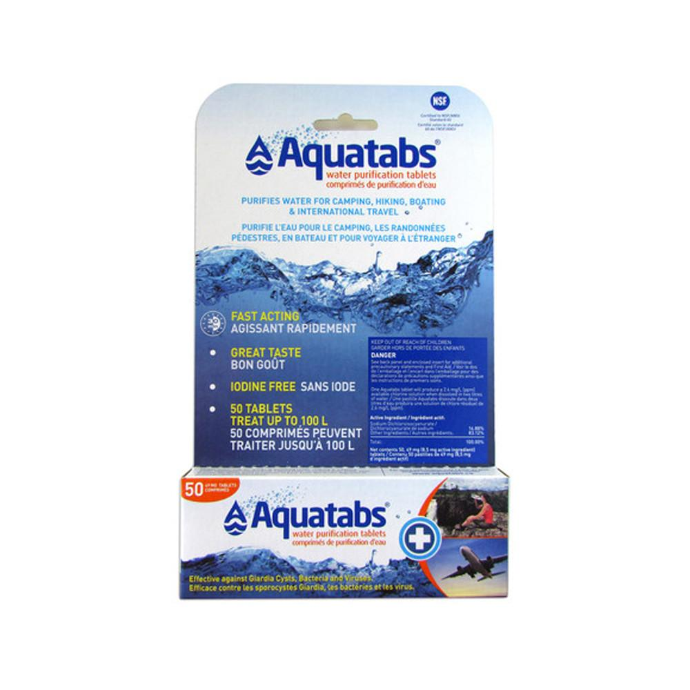 Aquatabs Water Purification Tablets 50 Pack