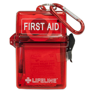 Lifeline Weather Resistant First-Aid Kit