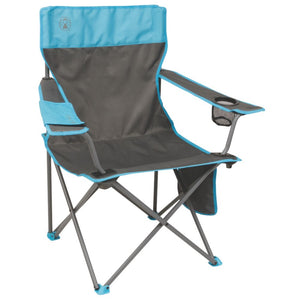 Coleman Quad Chair - Blue