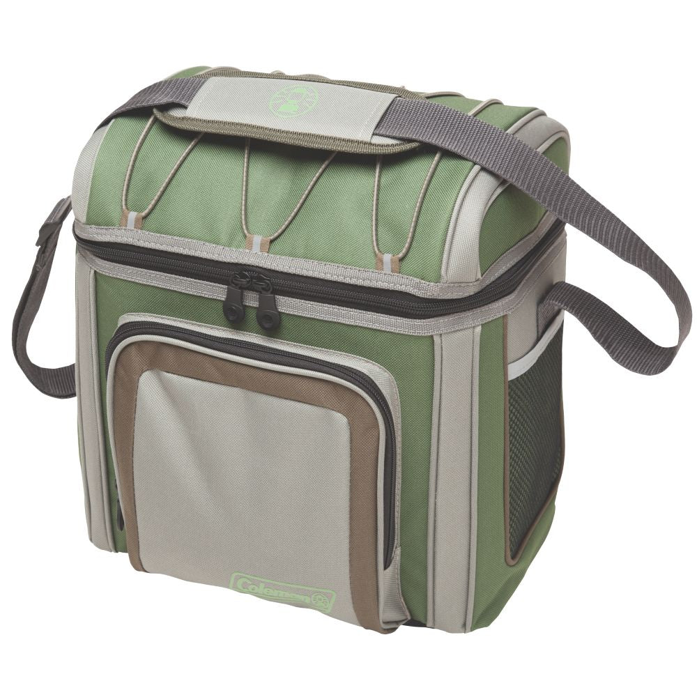Coleman 24 Can Soft Sided Cooler - Green