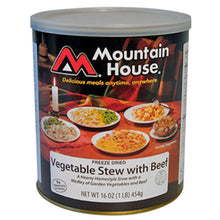 Mountain House Vegitable Stew With Beef #10 Can