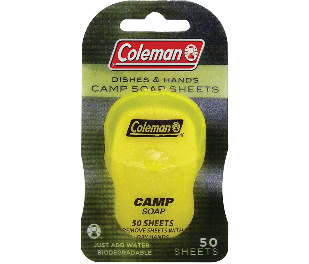 Coleman Hand & Dishes Soap Sheets