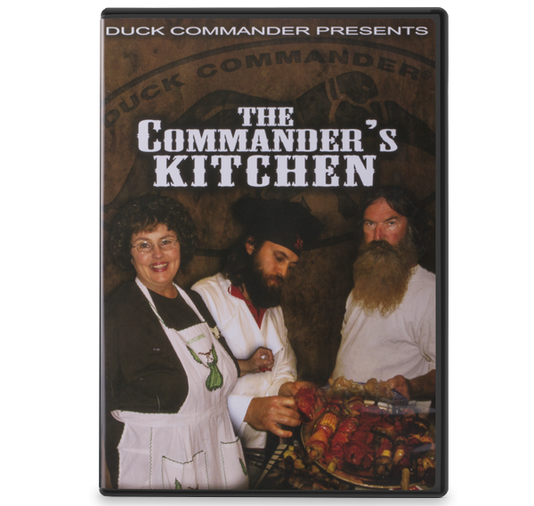 The Commander's Kitchen: A Cooking DVD
