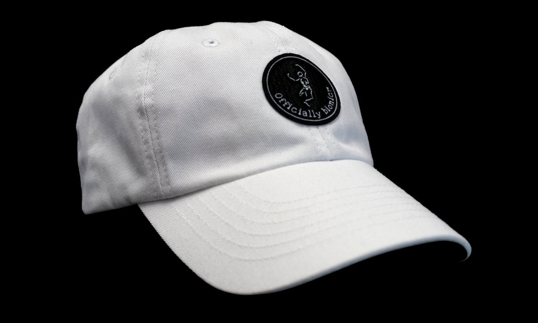 OFFICIALLY BIONIC Deluxe Cotton-Washed Baseball Hat