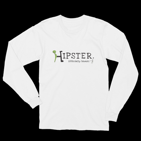 HIPSTER Long-Sleeve, Unisex T-Shirt