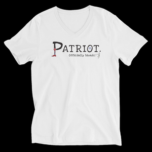 PATRIOT Short-Sleeve, Unisex V-Neck T-Shirt