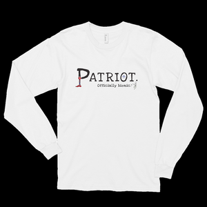 PATRIOT Long-Sleeve, Unisex T-Shirt