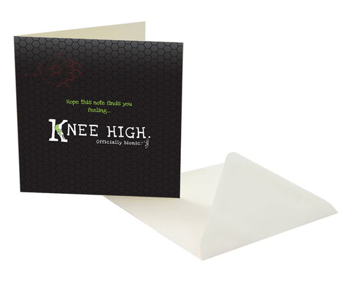 KNEE HIGH Recovery Card