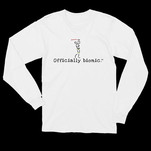 BIONIC GOLFER Long-Sleeve, Unisex T-Shirt