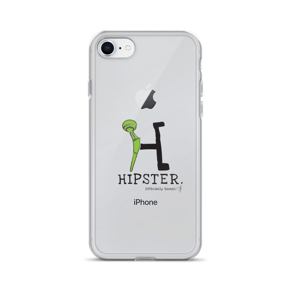 HIPSTER iPhone Case (for lighter-colored phones)