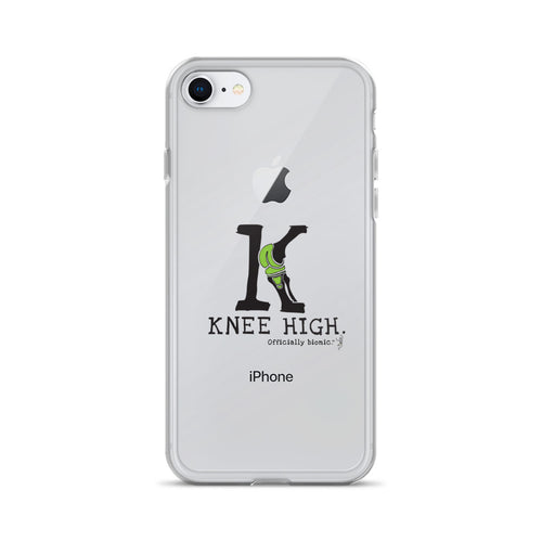 KNEE HIGH iPhone Case (for lighter-colored phones)